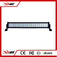 Hot! combo off road 24inch led light bars for 4x4 cars, 120w led lighting bar for night running
