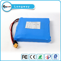 16S1P lifepo4 battery pack 12V 1.1Ah battery pack with A123 18650 cells