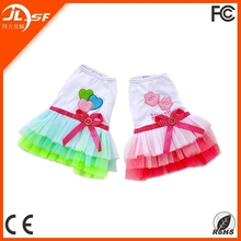 Customized Pet spring loaded Pet skirt Pet clothes Lips veil,pet dog sex clothes