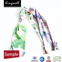 2015 Cheap Price Customized Digtial Printed Women Silk Scarf Hangzhou
