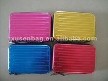 2013 new style alumunium material laptop bag