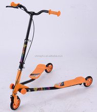 Hot selling three big wheels swing scooter for tennager and adult