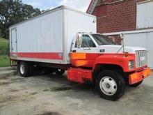 1998 GMC C7500 refrigerated box truck