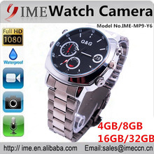 Good Max 32GB HD 1080P night vision and motion detection mini watch camcorder, mini voice camera, mini watch video camera Y6