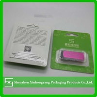 Customized USB Cable blister packaging