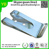 Custom stainless steel sheet metal flat spring steel clip from china suppliers
