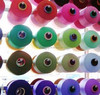 dope dyed 100% benang polyester dty/fdy/poy polyester yarn dty sim sd rw aa grade