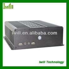 Iwill ZPC-D61-S120 mini itx box pc i3, 6*COM+1*VGA+1*HDMI+1*LVDS