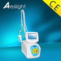 Portable fractional co2 laser for wrinkles reduction and skin lifting equipment
