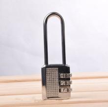 Long metal rod digital combination lock