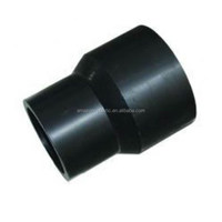 SDR11 PE Pipe Fittings plastic Reducing optical joint couplers 10inch