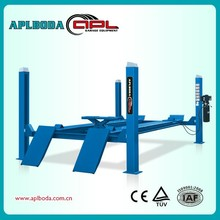 scissor car lift,movable 4 post lift
