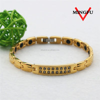 Mingfu fake diamond healthy bracelet traditional south indian jewellery