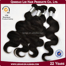 most popular machine weft 6a7a8a grade unprocessed cheap remy human hair ponytail