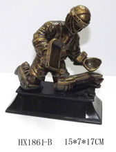 Resin hockey player figurines crafts