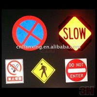 reflective material for road safety & warning signs