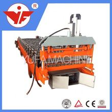 2015 new design Double Layer Roof Wall Sheet auto stud and track making machines china supplier