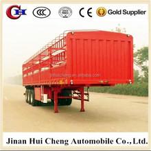 Animal transport vehicle,cargo stake semi trailer,Trailer for sale