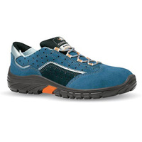EN 20345 S1 PU solo suede holed leather mine safety shoes with anti-perforation function