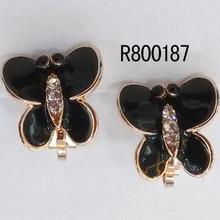 America OL office ladies love import earring zircon earrings