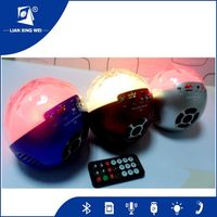 High end Portable Bluetooth Speaker Colorful LED light speaker