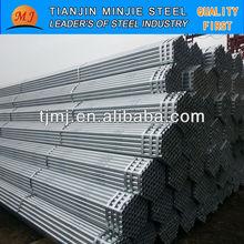 zinc coated surface schedule 40 steel pipe
