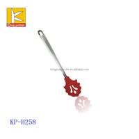 stainless steel handle nylon Spaghetti spoon server