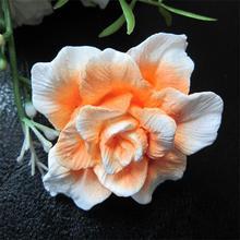 personalizado cerâmica flor de hibisco pedra ambientador ls025
