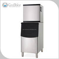 Luxury Water Flow Ice Machine For Ice Cube