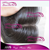 Large Stock! 7A Grade #1b silky straight peruvian virgin human hair silk top closure middle part