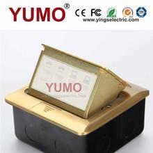 YUMO compra 2 red 2 teléfono enchufes eléctricos del piso