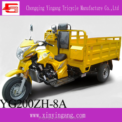 motorized open body type CCC cargo tricycle, top cheap 200cc three wheel chinese motorcycle
