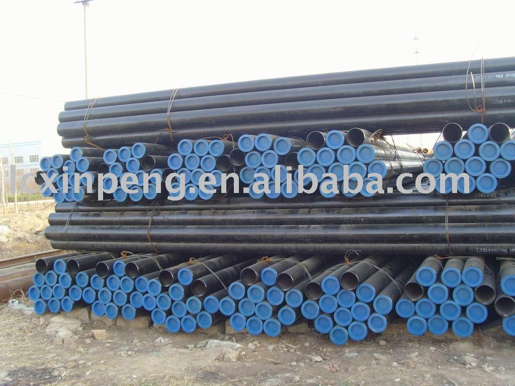 Astm A 106 / API 5L gr. B tubo de aço sem costura