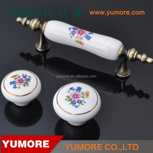 Wholesale China indoor kitchen file cabinet drawer pulls durable ceramic 76mm moon cabinet pulls and knobs