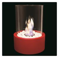 Round Gel Smokeless Fireplace