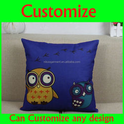 Handmade cute personalized travel headrest pillow