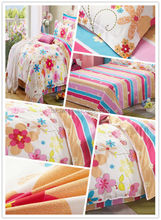 China Wholesale 100% Polyester microfiber brushed printed fabric for bedding set and duvet cover use