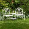 Popular vintage white pro garden furniture