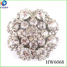 HW6068 china wholesale ladies shoes ornaments rhinestone crystal shoe clips