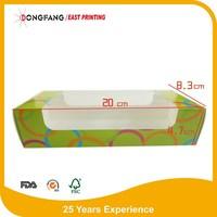 hot sale custom printed paper cupcake box