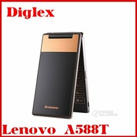 Lenovo A588t Smart Phone 4.0inch TFT 512MB Ram 4GB Rom 800*480P 5MP quad core android4.4 GPS GSM