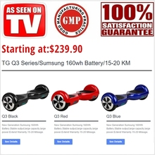 Hottest!!!2015 Best Quality Fashion TG Q3 Electric Scooters Self Balancing Two Wheel Smart Balance Electric Scooter