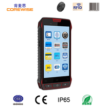 "5"" Screen industrial China express tracking pda, smart os biometric attendance pda"
