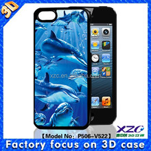 factory supply cheap durable 3d dolphin case for iphone 5