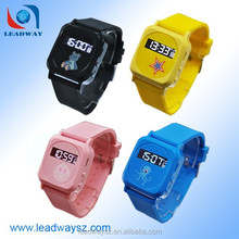 Mini gps child locator wrist watch cell phones with SOS button