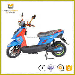2016 New Design Two-wheel 800W Lead-acid Batteries Electric Motorcycle for Cheap Sale