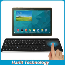 Android Bluetooth Keyboard Multi-Touch Touchpad , Wireless Bluetooth Keyboard with Multi Touchpad For Samsung