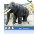 Simulación animales mamut