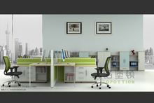 6 persons call center cubicles used office wall partitions workstations