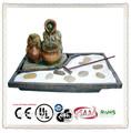 Fuente de agua para la decoración de interior zen garden